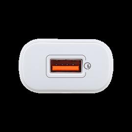 ACESSÓRIOS USB INTELBRAS CARREGADOR USB COM TECNOLOGIA QUALCOMM® QUICK CHARGE™ 3.0 EC 1 QUICK