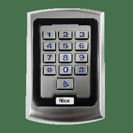 CONTROLE DE ACESSO NICE LEITOR RFID COM TECLADO LN001-A