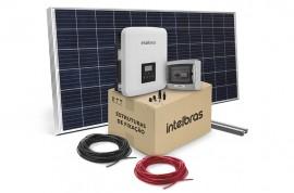 ENERGIA SOLAR INTELBRAS GERADORES MONOFÁSICOS ON GRID 3,3 KWP E 4,95 KWP