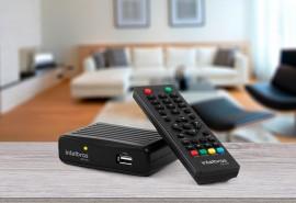 ANTENAS E CONVERSORES PARA TV INTELBRAS CONVERSOR DIGITAL PARA TV COM GRAVADOR CD 700
