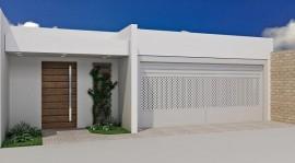 Modelo de portões para residências modernas