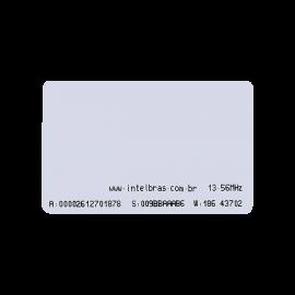 CONTROLES DE ACESSO CORPORATIVO INTELBRAS CARTÃO DE PROXIMIDADE RFID 13,56 MHz TH 2000 MF